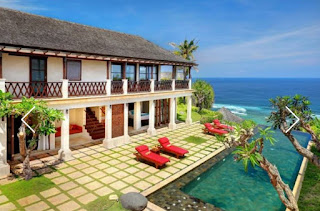 Villa for sale located on clift front of Pandawa Beach, Kutuh, Kuta, Bali