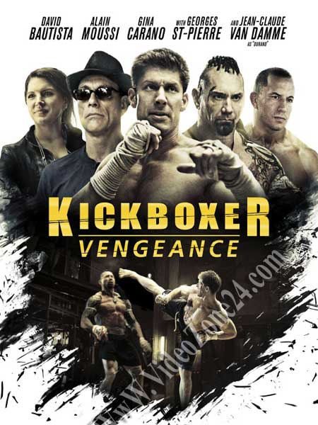 Kickboxer Vengeance 2016 BluRay 480p 350MB Poster