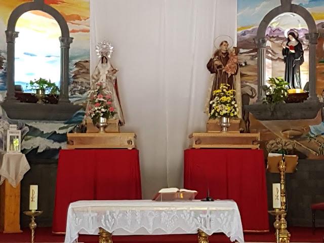 Resultado de imagen de paseo 8 de marzo, parroquia san antonio de padua en puerto de la cruz