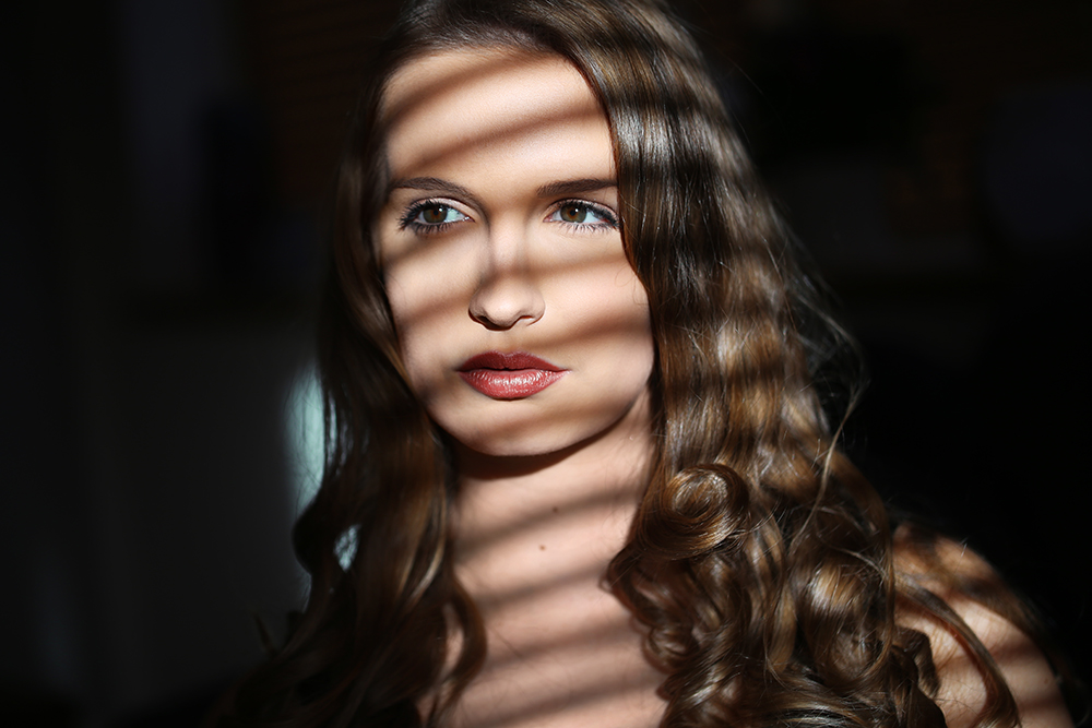 Schattenspiele Gesicht