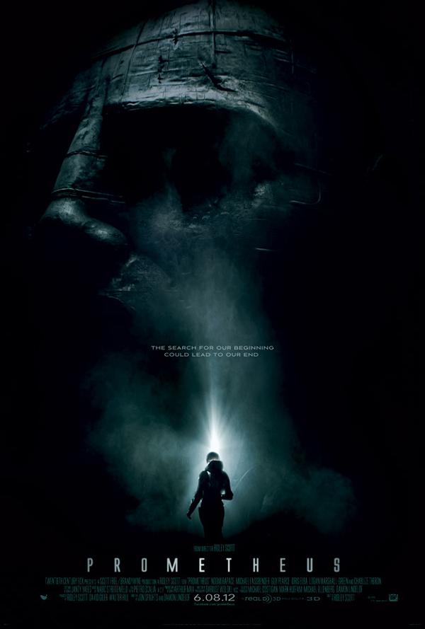 Primer poster de Prometheus
