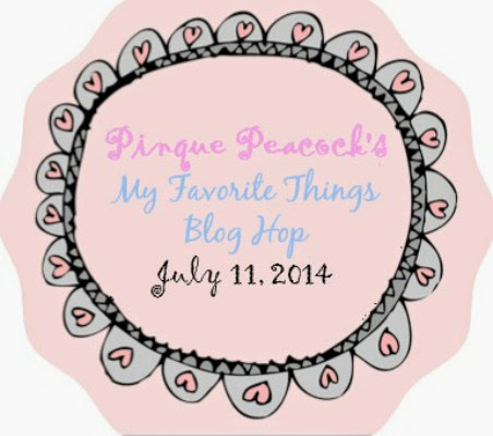 My Favorite Things Blog Hop