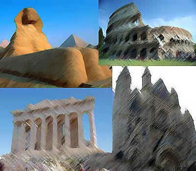 História da Arquitetura, Cronologia