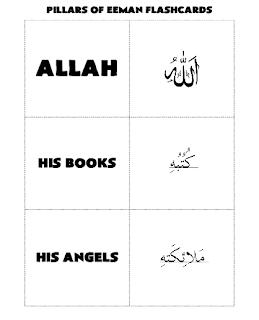 Pillars of Eemaan Flashcards