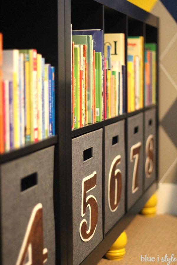 Kids' bookshelf