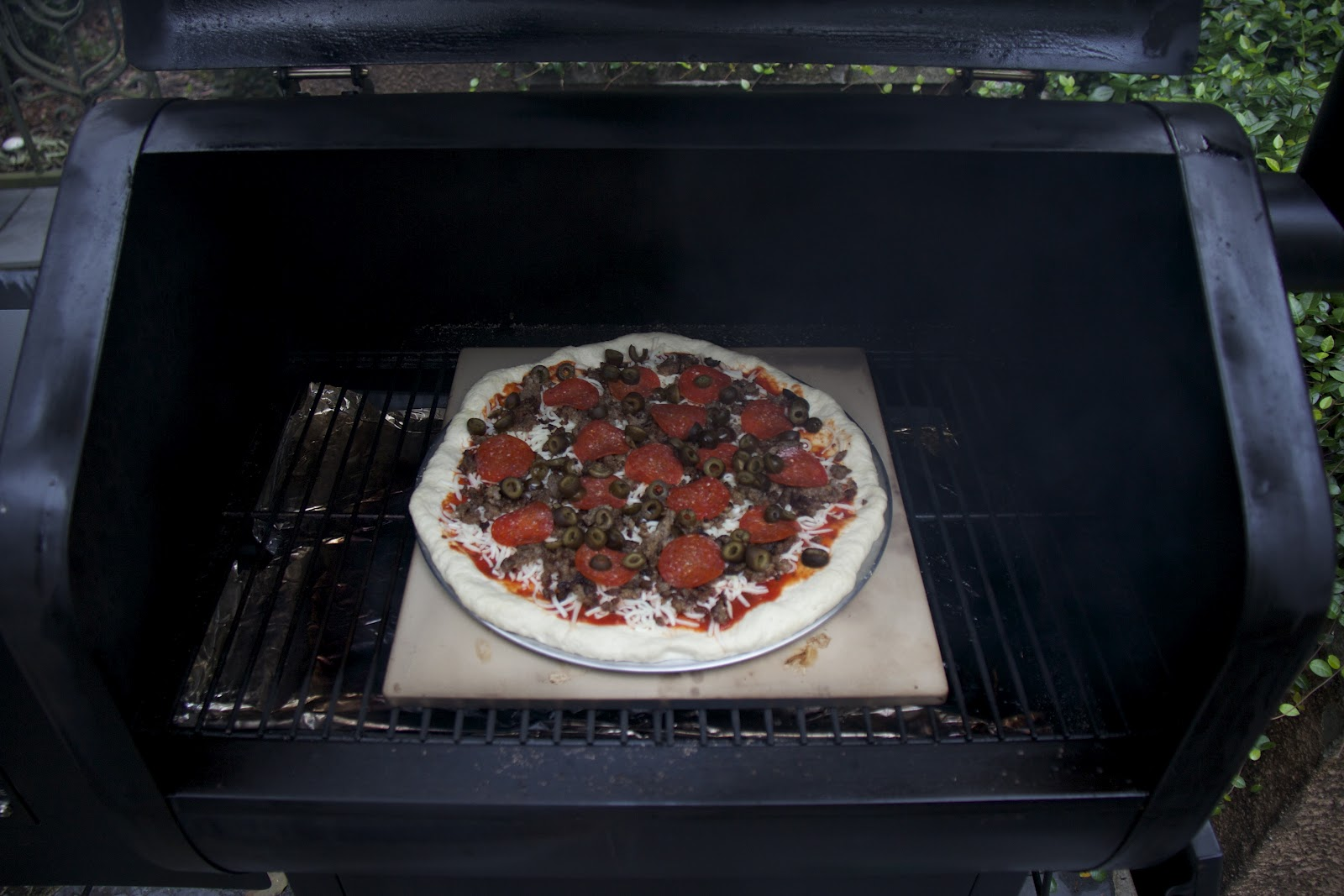 How To Cook Pizza On Pellet Grill