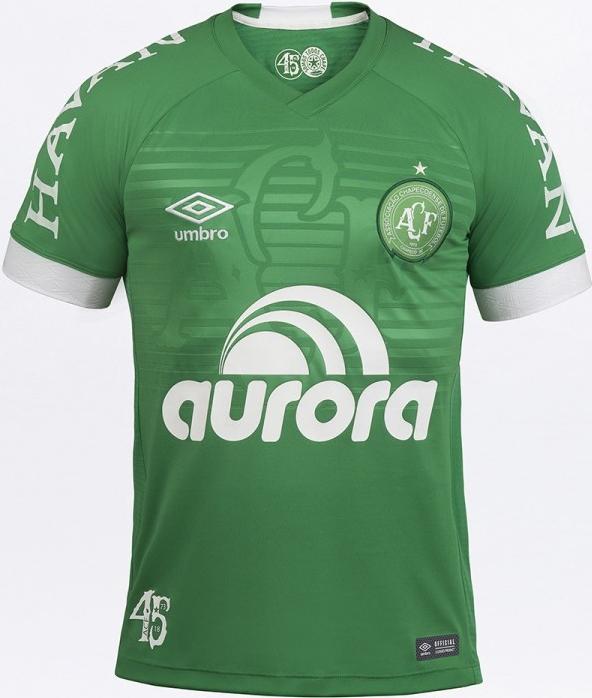 Umbro lança a nova camisa titular da Chapecoense - Show de Camisas dcace3b24c67b
