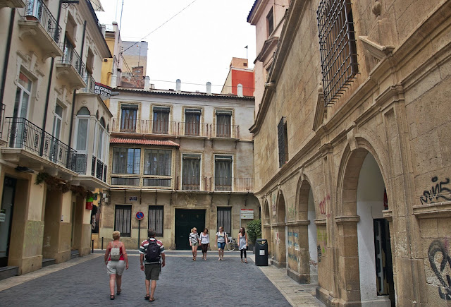 centrum miasta Murcja, Hiszpania, Costa Blanca