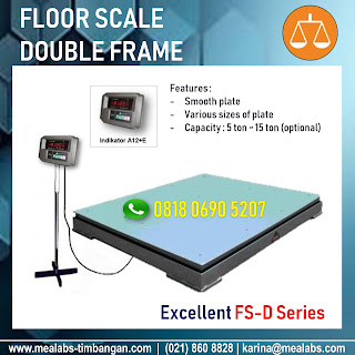 Floor Scale FS-D-A12+E Series