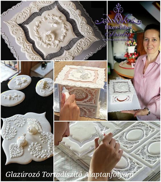 glazúrozott torták tanfolyam