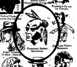 Primer dibujo publicado de Ibáñez (Chicos nº 458)