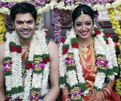 reception of Ganesha Venkatraman and Nisha Krishnan