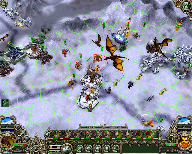 Flying Unit screenshot | Elven Legacy