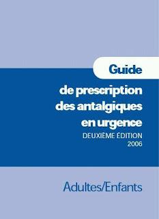 Guide de prescription des antalgiques en urgence