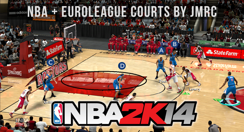 NBA 2K14 Court Floor Reflections Next-Gen PC Mod