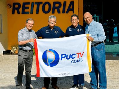 Divulgação TV Aparecida/TV PUC Goiás