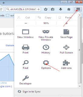 cara menonaktipkan update otomatis(mozila