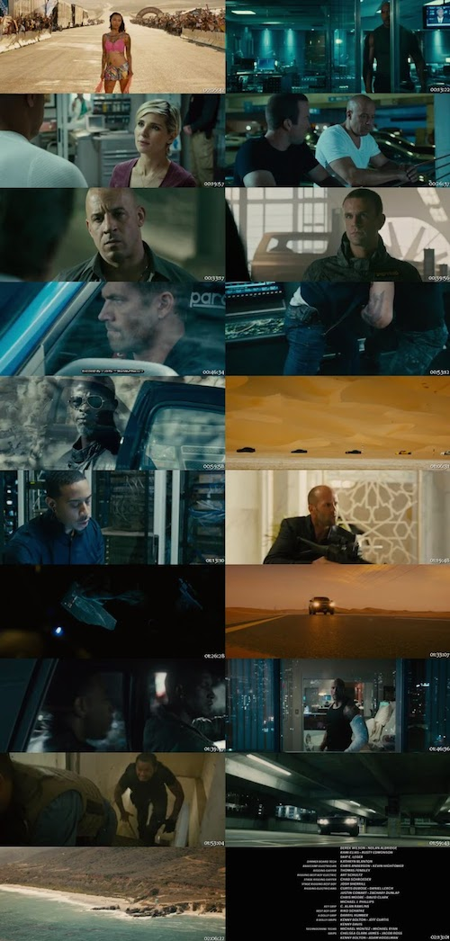 Fast And Furious 7 BRRip 480p 400mb