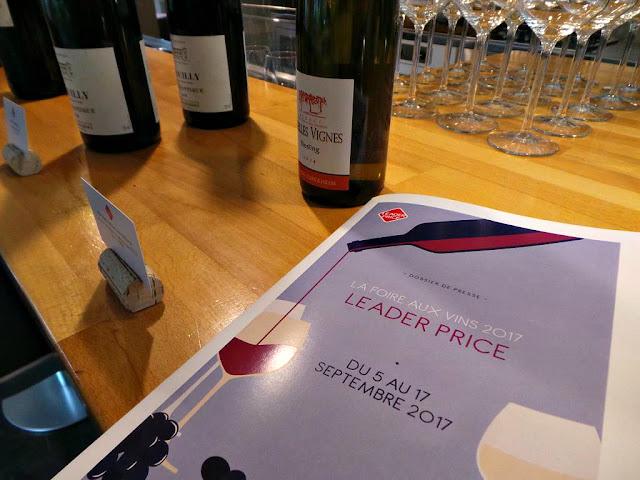 Vins Foire aux vins Leader Price vins biologiques Gaetan Bouvier meilleur sommelier de france FAV
