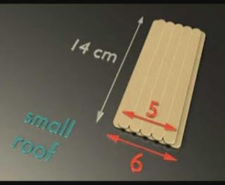 Cara Membuat Kerajinan Tangan Dari Stik Es Krim Berbentuk Rumah