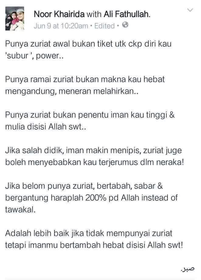 Hakikat ZURIAT!!!