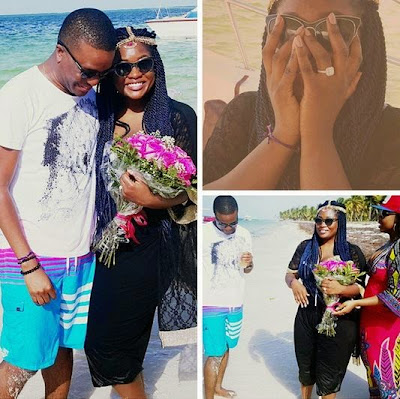 Toolz and Tunde Demurun are engaged