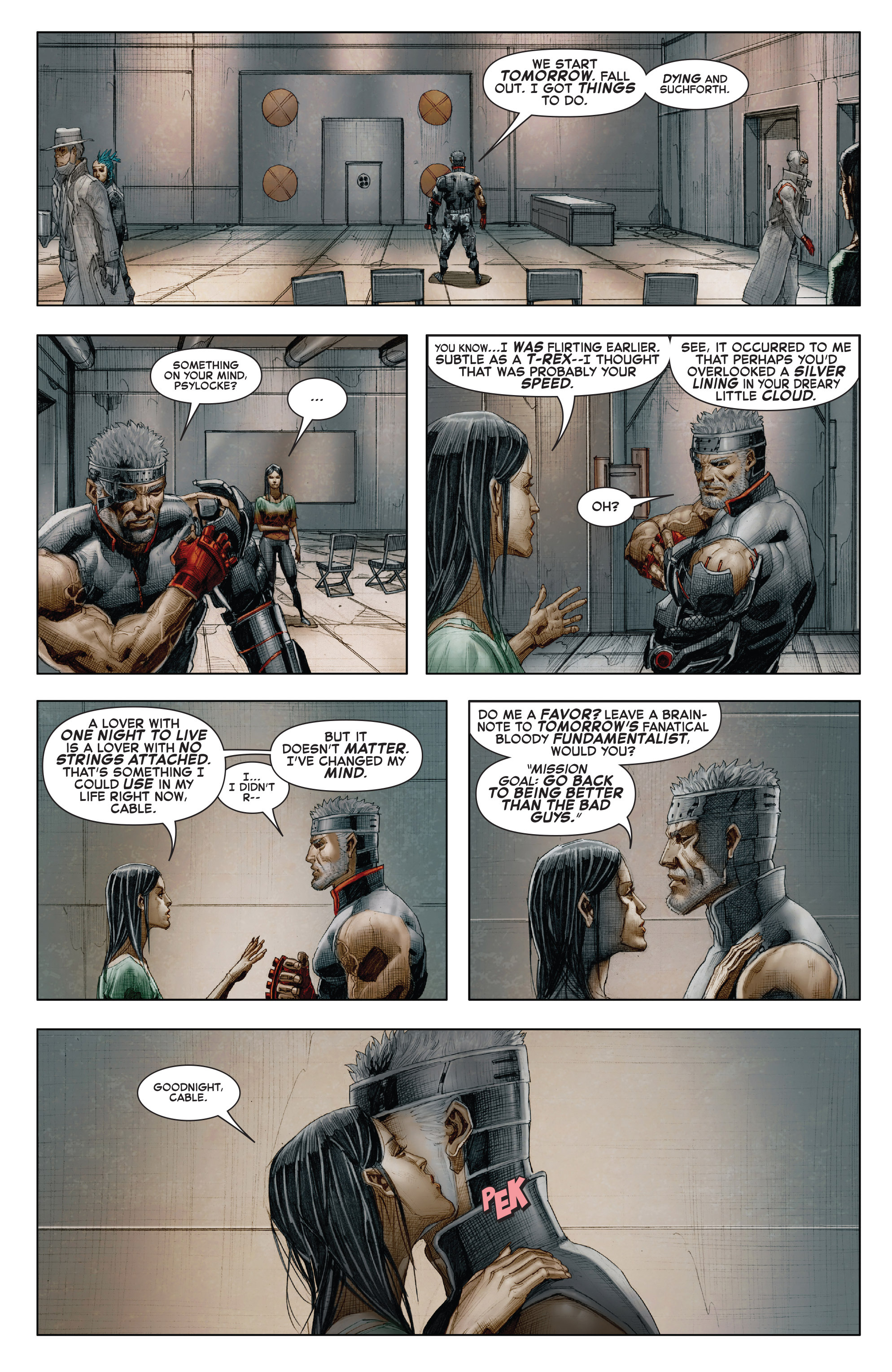 Read online X-Force (2014) comic -  Issue #7 - 18