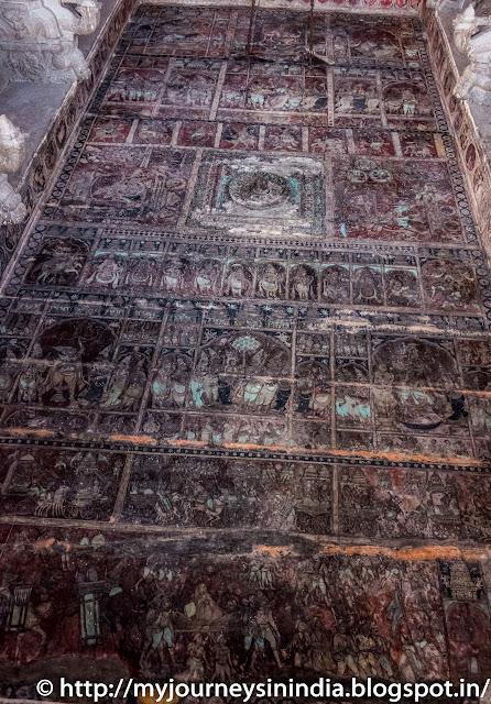 Hampi Virupaksha Temple Murals