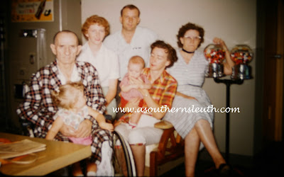 grandparents, Heber Monroe Ganus, genealogy, family history, memories, hospital