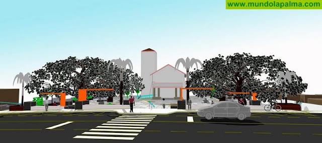 Proyecto de remodelación presentado a los vecinos sobre las actuaciones a realizar en la plaza de Todoque