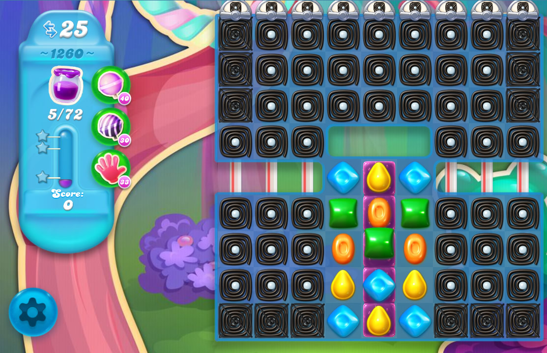 Candy Crush Soda Saga level 1260
