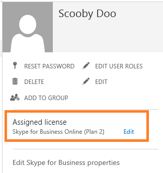 Microsoft skype for business online plans