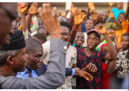 VP Osinbajo Visits Koton Karfe, Kogi, Inspects Areas Hit By Flood