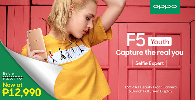 Oppo F5 Youth Price Drop Philippines