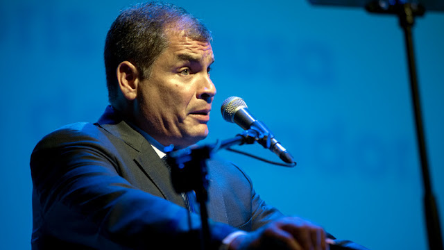 Interpol rechaza pedido de difusión roja contra el expresidente ecuatoriano Rafael Correa