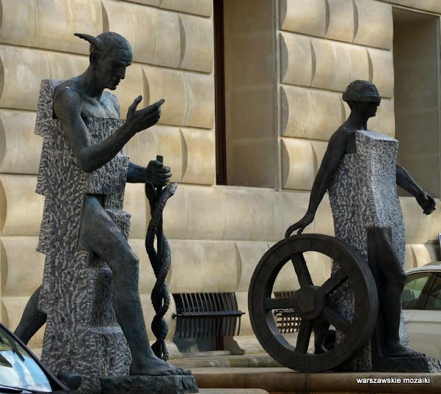 Warszawa Warsaw rzeźba Barbara Falender Wspólna 62 Ufficio Primo