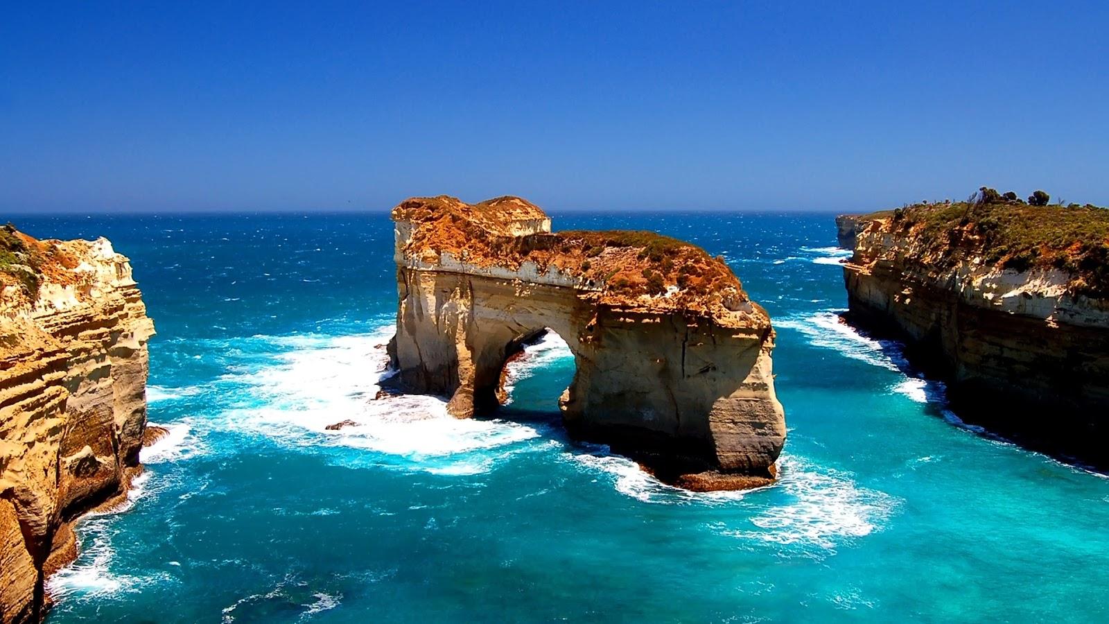 Islands Of Australia: Wallpapers World: Island-archway-australia-hd-1080p