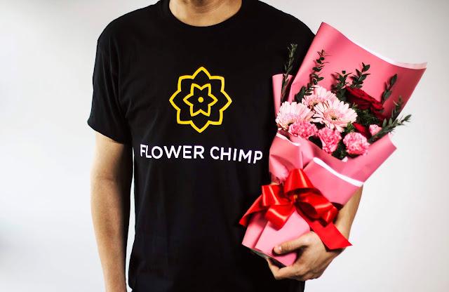 Flower Chimp Sediakan Tempahan Melalui Talian Ke Seluruh Negara
