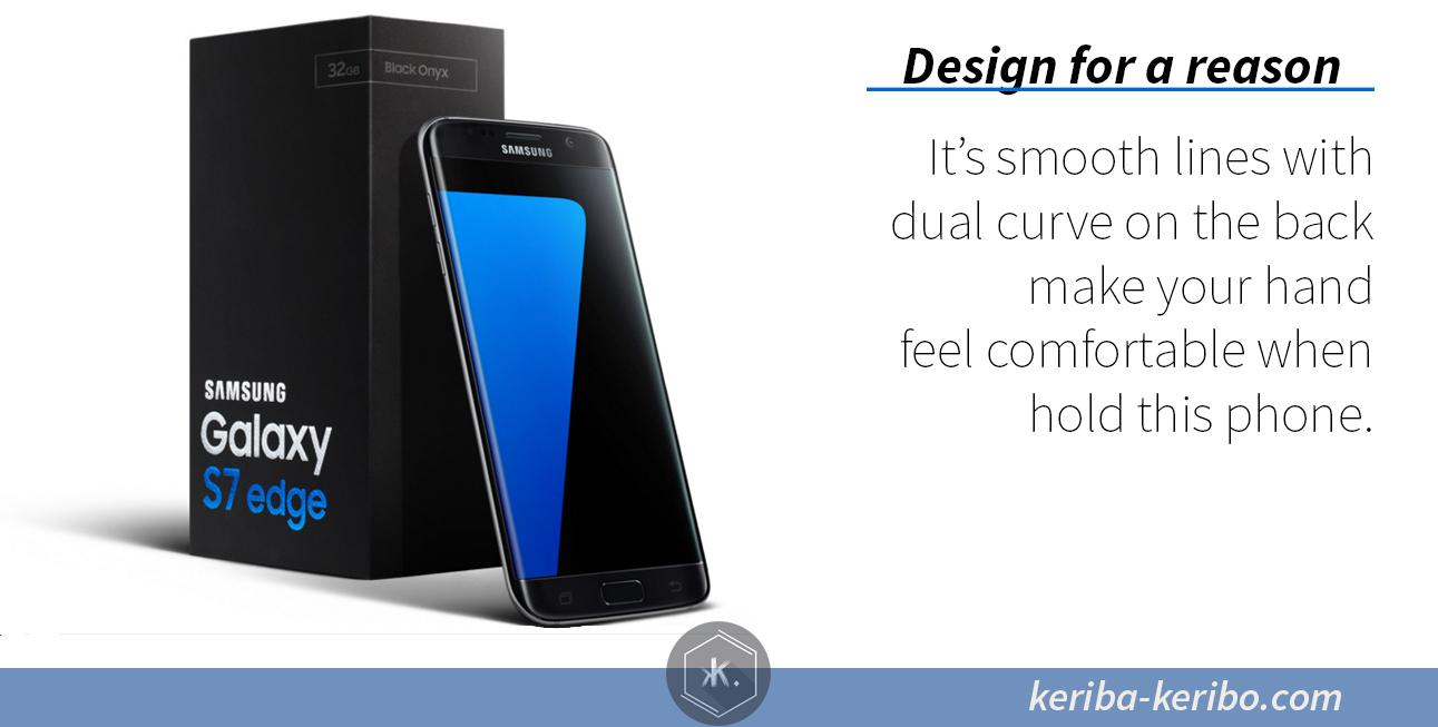 Samsung galaxy s7 dan s7 edge curve back