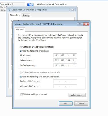 Menyambungkan PS3 Ke Laptop Dengan LAN 5