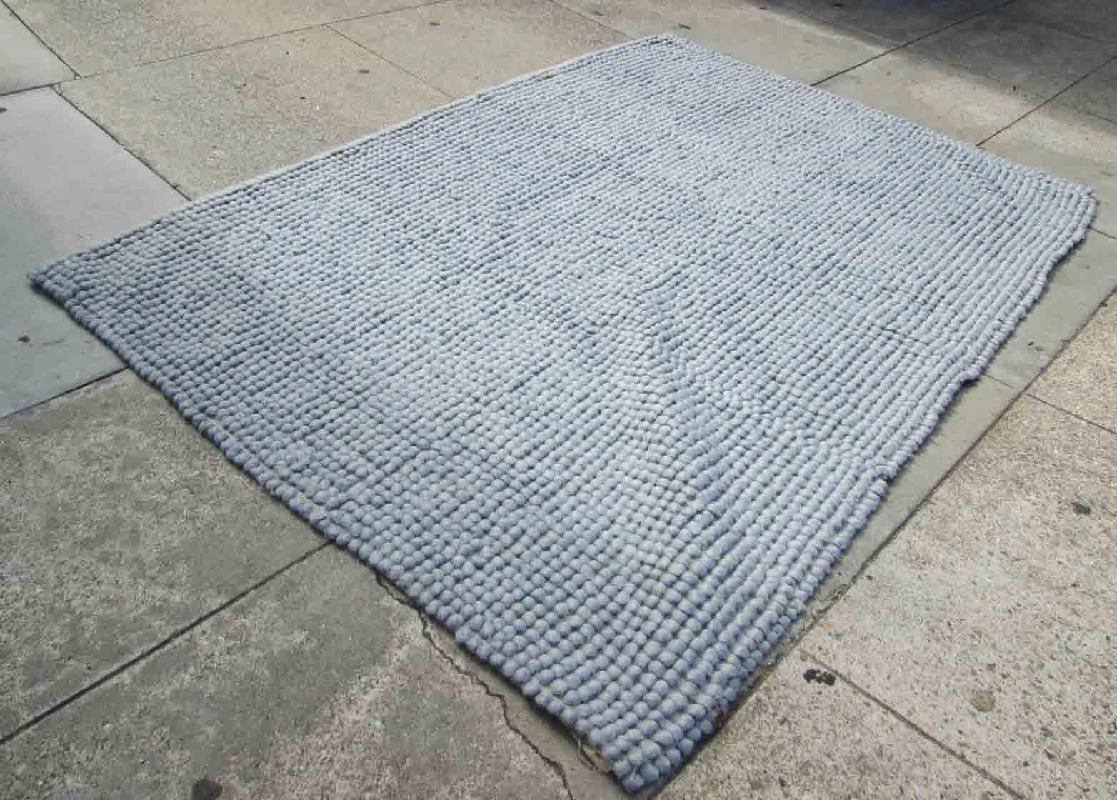 uhuru furniture collectibles sold west elm soft blue area rug 5x8 45. Black Bedroom Furniture Sets. Home Design Ideas