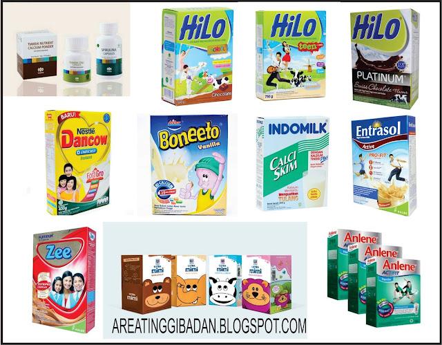 10 merk susu peninggi badan terbaik dan aman
