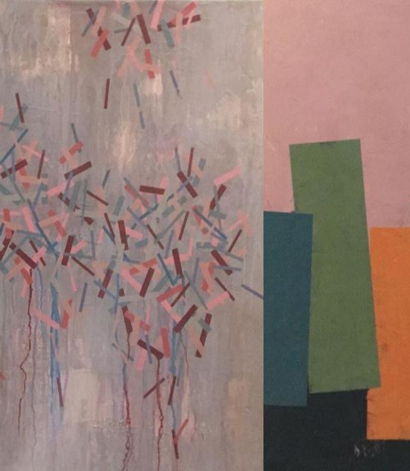 87 Gambar Lukisan Abstrak Pattern Yang Kreatif Dan Unik Punya 1001 Makna