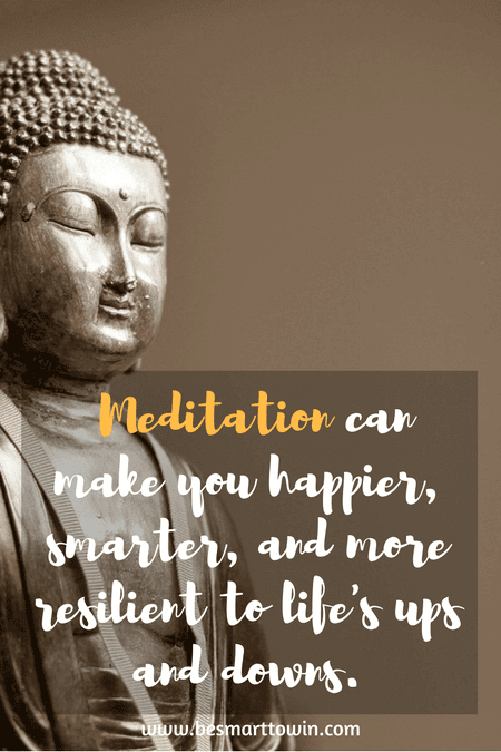 Meditation is very powerful when it comes to positive thinking