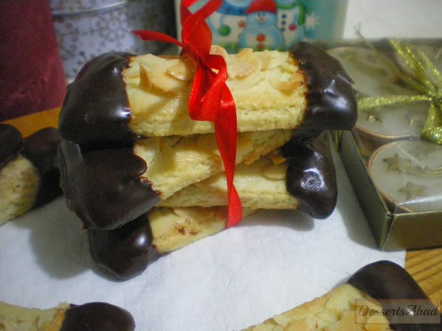 Mandelschnitten (galletas de almendra )