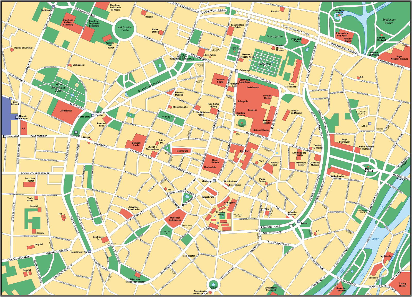 Mapa de Munich