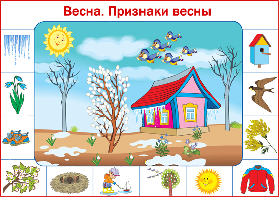 приметы лета для детей в картинках