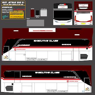 Download Livery Es Bus Id Po. Primajasa jetbus shd