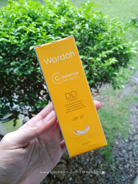 Review Wardah DD Cream C-Defense