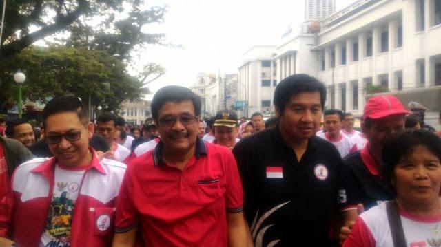 Maruarar Sirait Gelar Kirab Kebangsaan Mem-Pancasila-kan Kota Medan, Apa Maksudnya?